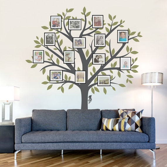 Arbre g n alogique muraux sticker mural arbre sticker mural - Arbre genealogique stickers ...