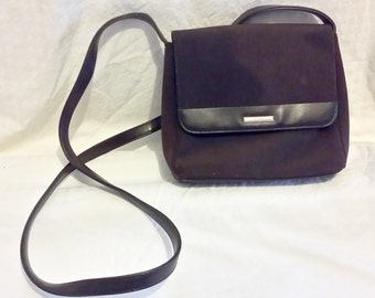 Chocolate Brown Nine West 80's Shoulder Bag