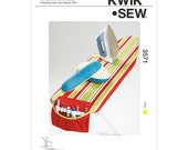 Kwik Sew sewing Pattern  3571   K3571 for Ironing Board Cover, Caddy, Pressing Ham & Sleeve Roll