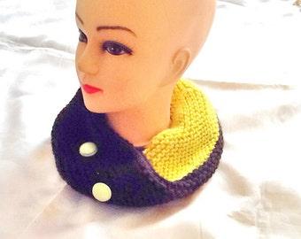 SALE -----GYPSY BOHO scarf -green and black  Infiniti scarf -winter scarf -knitted scarf