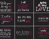 Photography Words Overlays (OVE014) - Support Adoption for Valentine, png & psd layered files