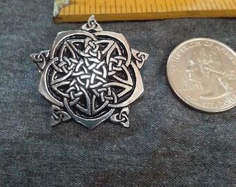 Celtic Rose Pin