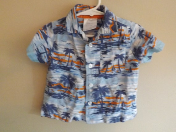 baby boy clothes boys hawaiian shirt baby boy camp shirt