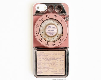 iPhone 5 Case. iPhone 5S Case. Retro Pink Payphone. Mobile Phone Case. iPhone Case. Phone Case. Phone Cases. iPhone Case.