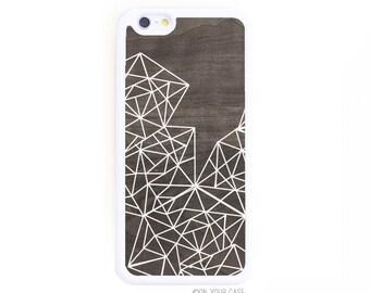 Rubber iPhone 6 Case. iPhone 6 Cases. Geometric Lines. Phone Case. iPhone Case. Phone Cases. Rubber 6 Case.