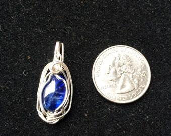 Silver Kyanite Mini Pendant