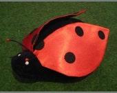 Katica - ladybug plush handpuppet for children