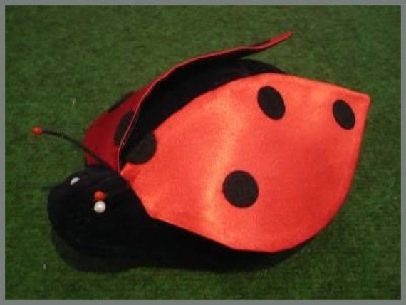 Katica - ladybug plush handpuppet for children