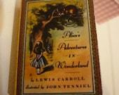 Miniature book Alice. Adventures in wonderland