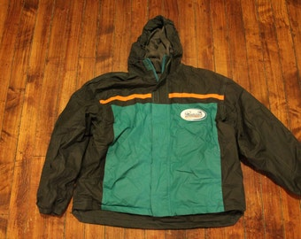 Miami Dolphins Gameday waterproof jacket NFL football Large