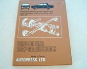 1972 Ford Cortina 1967-1968 Autobook, Car Manual Includes 1300-1600cc and Lotus!