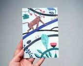 Postcard // Illustration // King Monkey