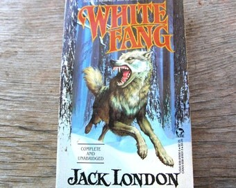 White Fang - Jack London - Vintage Book - Soft Cover