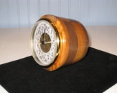 Mantle/ Table Clock Made From Walnut And Jatoba #1