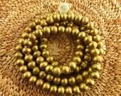 Nigerian Brass Round Beads