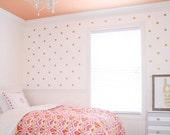 Small Polka Dots Nursery Vinyl Wall Decals