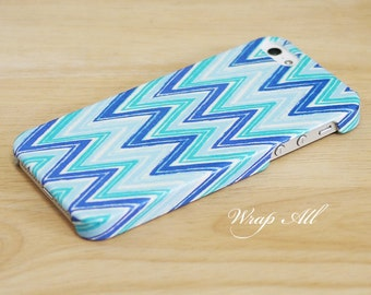 Blue Chevron iPhone 6S case iPhone 6 case iPhone 6S Plus case iPhone 6 Plus case iPhone 5S case iPhone 5 case iPhone 4S case iPhone 4 case