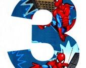 Spider-Man Birthday, Spiderman Iron On, Spiderman Applique, Spiderman Patch, Spiderman Decal, Superhero Party, Spiderman Theme, Spider Man