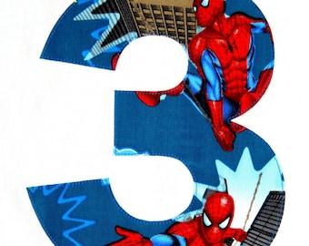 Spider Man Applique Spiderman Birthday Superhero Iron On