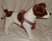 Custom Step In harness all sizes.  YOU pick fabric and nylon color