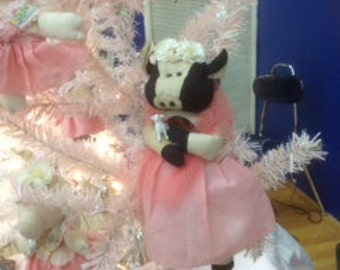 Mary the Cow Ornament