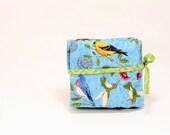 Garden Birds Blue - Interchangeable Knitting Needle Organizer