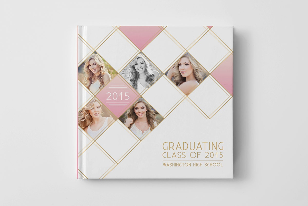 Photography Book Cover Fee ~ Photo book cover template for photographers senior album