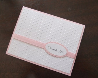Baby Girl Shower Thank You Notes