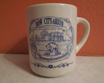 Vintage Quasquicentennial Dow City Arion Iowa 1969 1994