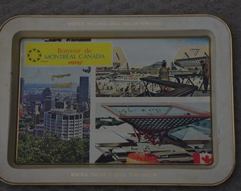 Souvenir Serving Tray - Montreal Expo '67