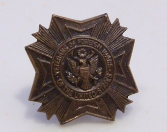 Veterans of Foreign Wars of the United States Lapel or Collar Pin