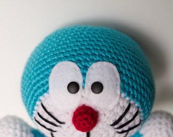 Amigurumi Doraemon Free Pattern : Doraemon dolls etsy