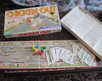 1988 Chicken Out Board Game  :)