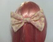 MLP Fluttershy Hair Bow Barrette