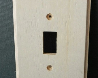 WOOD Light-Switch Plate