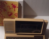 Vintage V Tech Lesson one computor complete with book and box game and book excellent this is a Rare toy and so much fun working condition