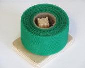 DIY Dish Scrubbies - Kelly Nylon Net 40 Yards Long Spool - 2 Inch Strip