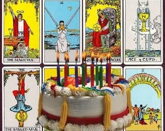 Birthday Tarot Reading - PDF, MP3