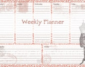 Weekly Planner Printable For the girls