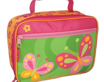 Personalized Stephen Joseph Butterfly Lunch Box