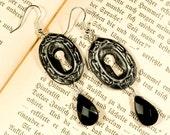 Keyhole, earrings in the