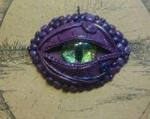 Purple Dragons Eye Pendant