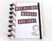 Refillable Wanderlust Travel Journal Scrapbook Travel Photo Album Travel Gift Honeymoon Graduation Gift