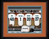 PERSONALIZED & FRAMED MLB Miami Marlins Sports Print