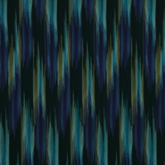 modern navy blue teal upholstery fabric by the by