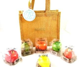 Soaps. Fruit Soap - Set of 5