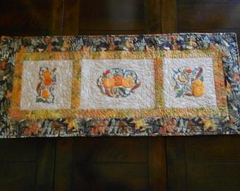 Table Runner/ Fall Table Runner/ Pumpkin Table Runner/ Fall Decor/ Home Decor