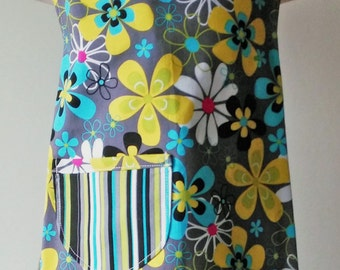Aqua & Lime floral summer outfit size 2T