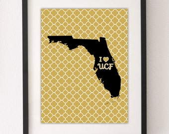UCF Knights - Printable Wall Art - PDF