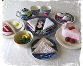 Felt Food Essentials Set, Toy Kitchen Food Bulk Lot